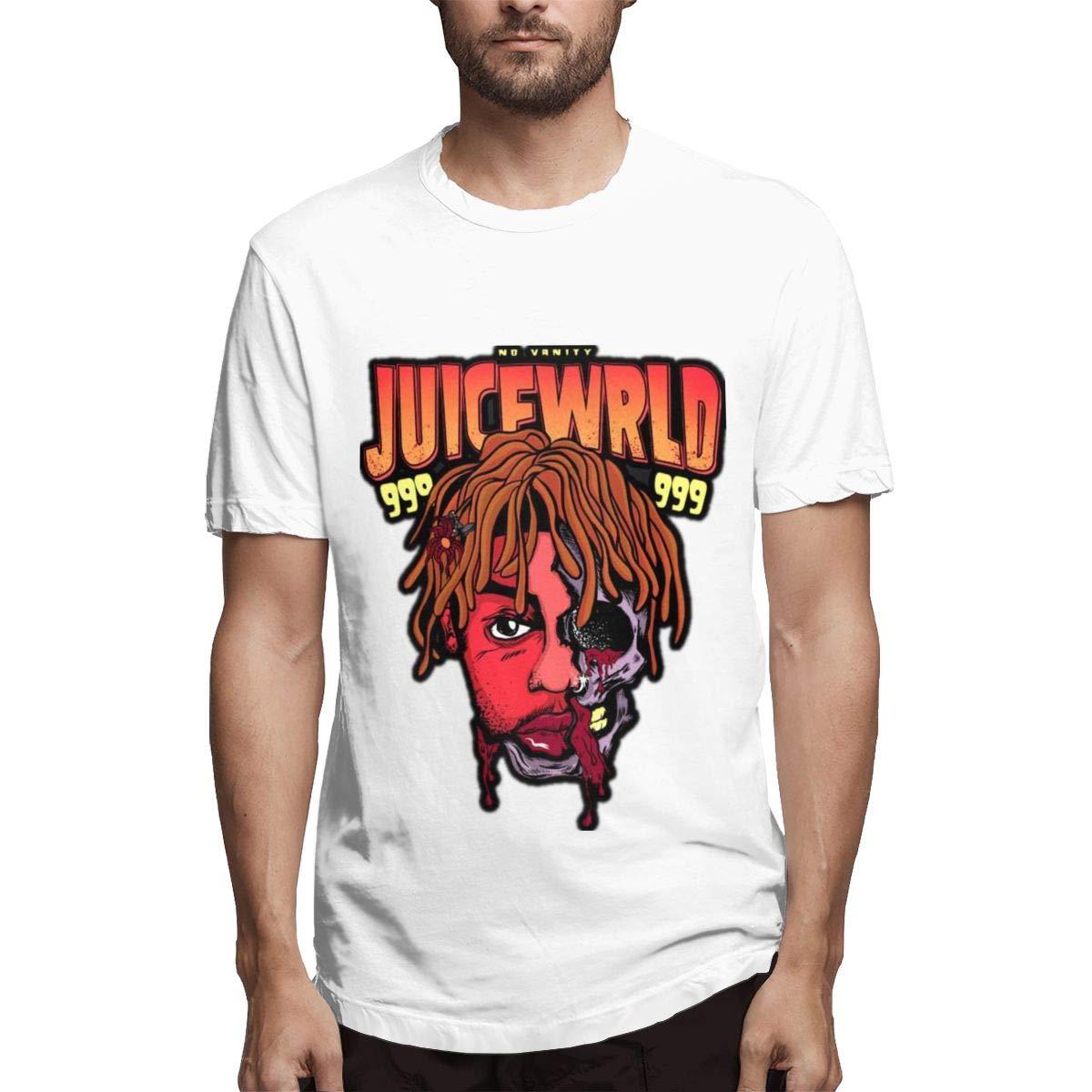Lihehen S Juice Wrld Simple Casual Round Neck Ts Shirts