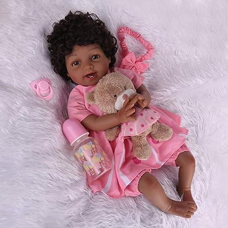 Kaydora Reborn Baby Dolls Black Girl, 22