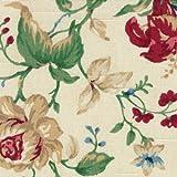 Longaberger Large Recipe Basket Liner in Heirloom Floral Fabric Over Edge New In Bag