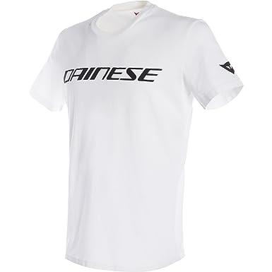 Dainese 1896745-601-XL Camiseta, Blanco/Negro, XL