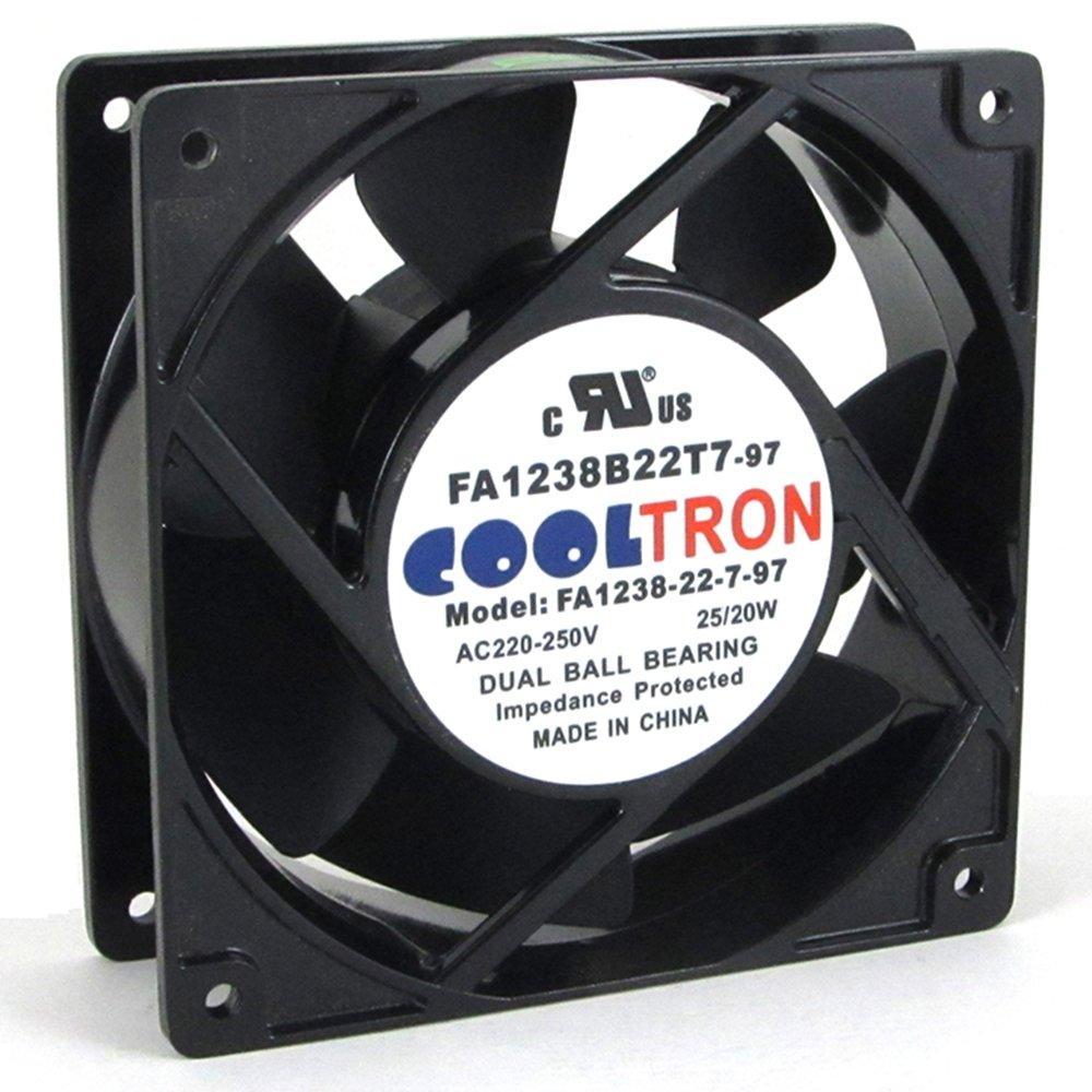 230V AC Cooling Fan. 120mm x 38mm HS