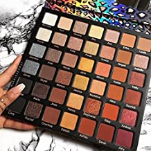 Professional Eyeshadow Palette Matte Diamond Glitter Eye Shadow Cosmetics Set Women Beauty Tool 42 Color