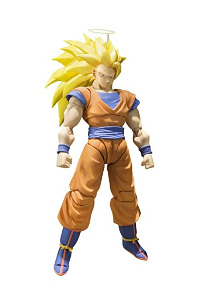 amazon com bandai tamashii nations s h figuarts super saiyan 3 son