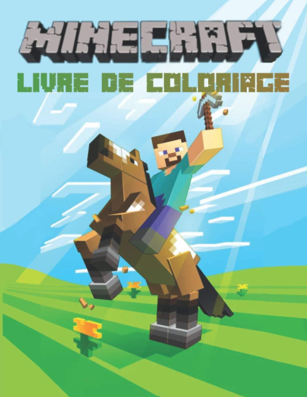 Minecraft Livre De Coloriage Cahier De Coloriage Minecraft Super Pour Les Enfants 70 Pages Enderman Steve Creeper Skeletton Animaux Et Pleins Dessins Minecraft A Colorier French Edition Super Minecrafter 9798697453643 Amazon Com Books