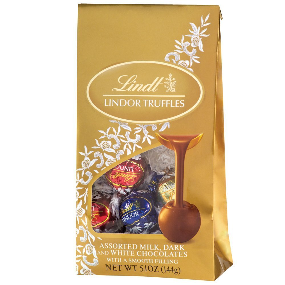 Lindt Truffles, Assorted, 5.1-Ounce Boxes (Pack of 12)