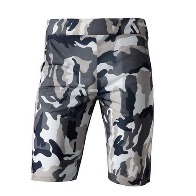 Amazon.com: TAGGMY Pantalones cortos de carga para hombre ...