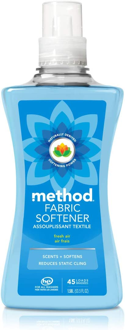 Method Fabric Softener, Fresh Air, 53.5 Ounces, 45 Loads