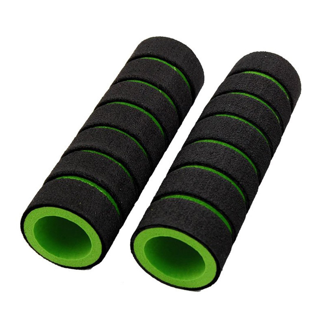 SODIAL(R) Nonslip Soft Foam Bike Bicycle Handle Bar Grips Cover 4 Pcs