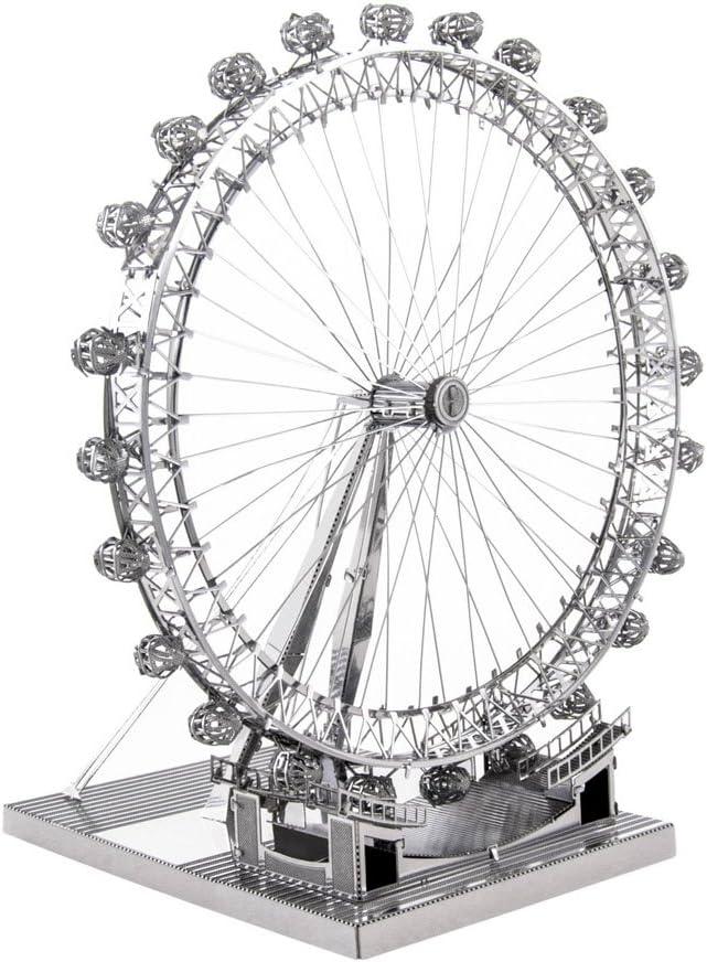 Fascinations ICONX London Eye Ferris Wheel 3D Metal Model Kit