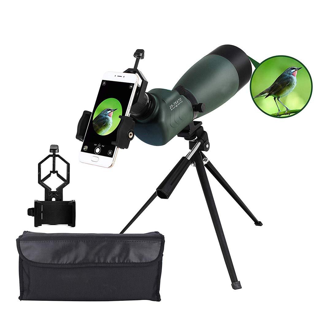 【希少!!】 三脚携帯電話アダプター25-75 X X 70 B07M9NCZH6 BAK4単眼望遠鏡45度の望遠鏡スポッティングスコープターゲットシューティングの狩猟鳥観察のための45度の角度防水スポットスコープ 70 B07M9NCZH6, 安八郡:8a6a511f --- a0267596.xsph.ru