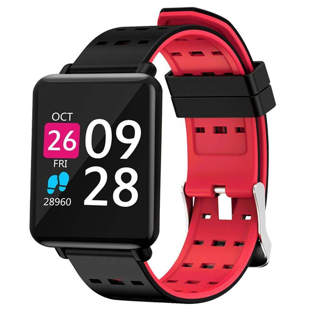 FKING Fitness Tracker, Activity Tracker, Pedometer, Heart Rate Monitor, Sleep Monitoring Waterproof Smart Wristband
