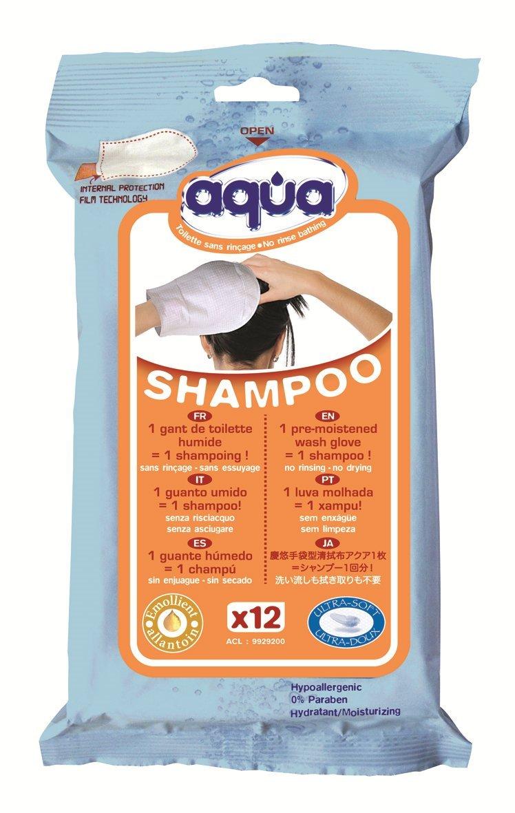 Cleanis手袋型清拭布 アクアシャンプー 頭洗浄用 12枚入 B006GEPFJK