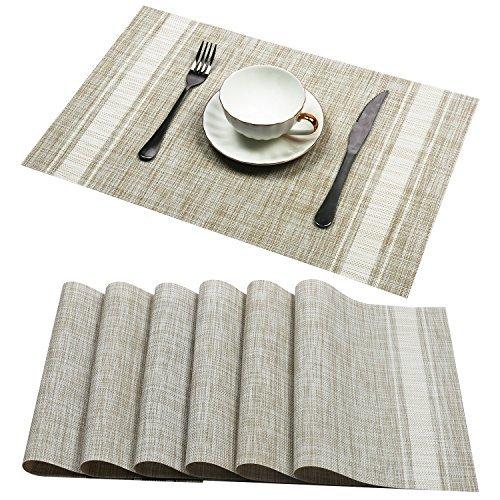 Amazon.com: Set of 6, High Quality Rectangle Dining Room ...