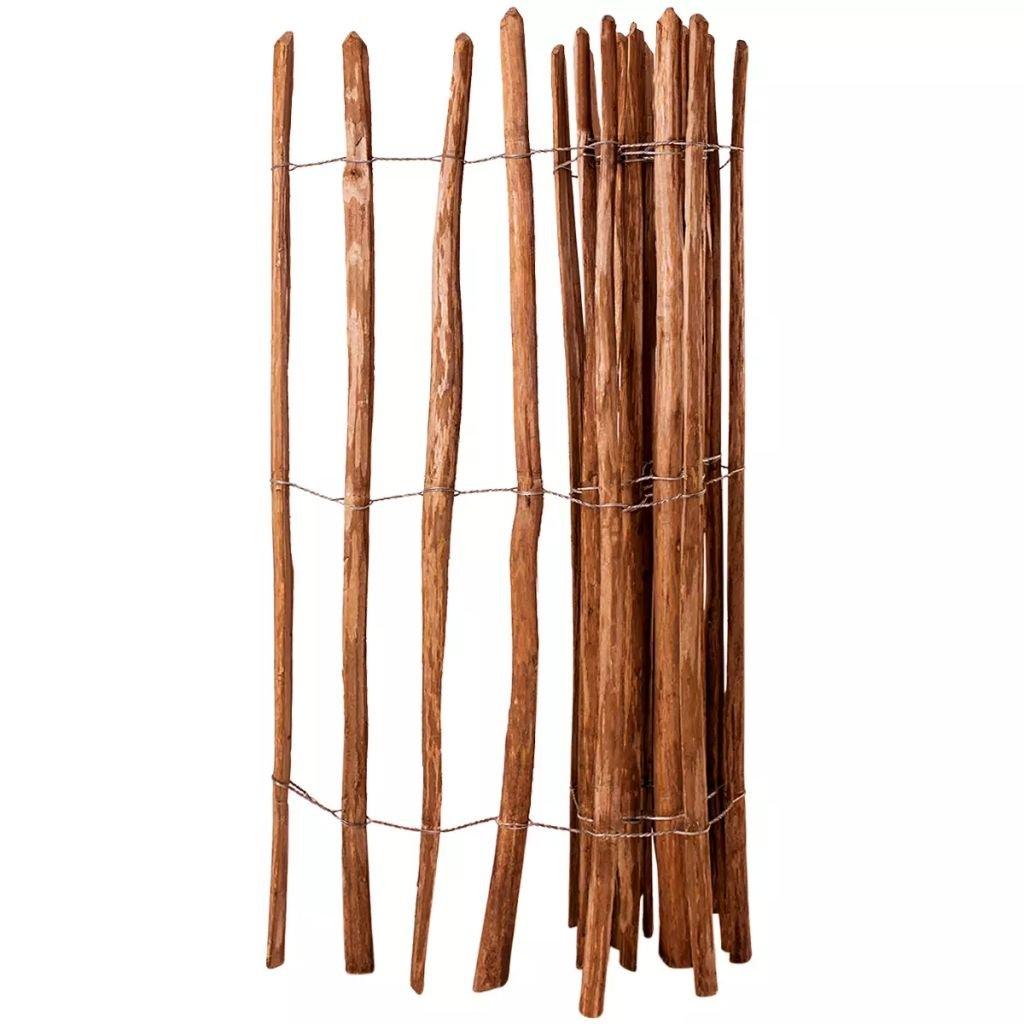 gaviones decorativos para el jard n asador y parrilla Zora Walter Valla Valla Valla de madera de nogal Impermeabilizada 150 x 250  cm Valla Jardín