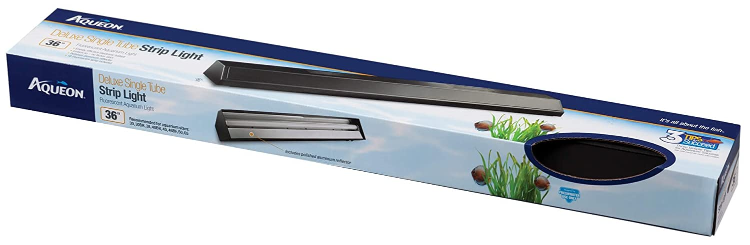 All Glass Aquarium AAG25937 Fluorescent Deluxe Strip 36-Inch