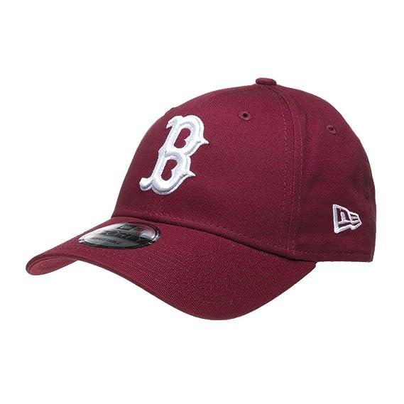 New Era Boston Red Sox 9forty Adjustable Cap League Essential  Cardinal White - One-Size  Amazon.fr  Vêtements et accessoires d7559a2f6817