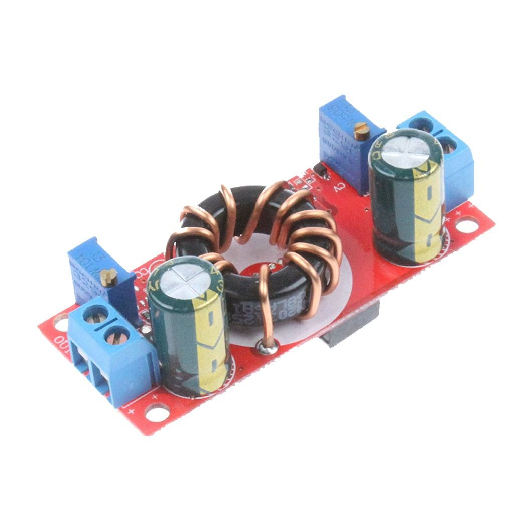 Xuanhemen DC-DC 10A Step-Down Buck Constant-Voltage Constant-Current Module Solar Lithium Battery Charging LED Driver Board