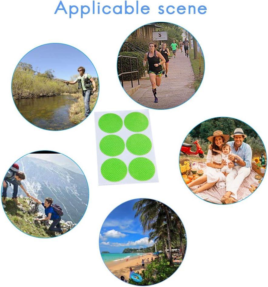 Non tossici per Bambini e Adulti Faviye 120Pcs Patch Anti-zanzare Adesivi Non tossici per la zanzara