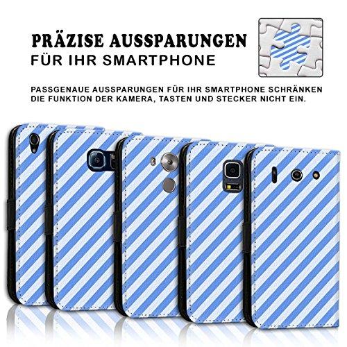Wallet Book Style Flip Handy Tasche Case Schutz Hülle Schale Motiv Etui für Apple iPhone 4 / 4S - Design Flip MV123