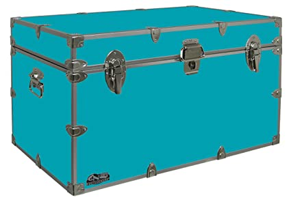 f23e6fb7fd036 Graduate Footlocker Trunk - #CN-1105-v3-32 x 18 x 18.5 Inches - Duarble,  Water Resistant