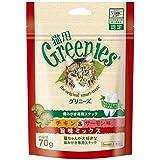 グリニーズ グリニーズ猫用 チキン&サーモン旨味ミックス 70g