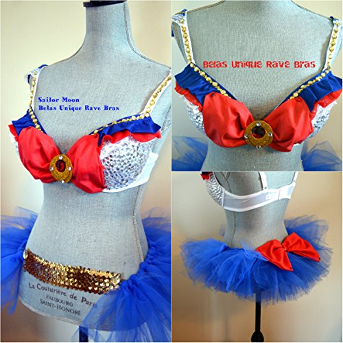 Sailormoon Sailor Moon Bra and Tutu Cosplay Rave