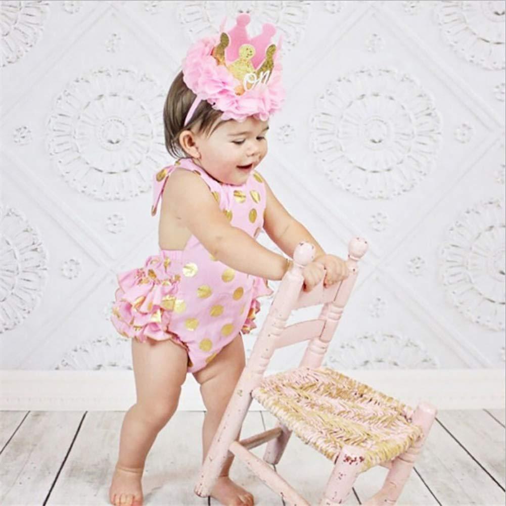 Novit/à fasce capelli neonata cotone fascia headwrap Turbante ad arco di colore solido elastico Cerchietti cotone per Bambine Babies Set regalo