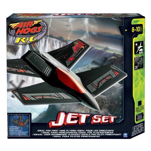 Air Hogs RC Plane, Jet Set 2 – Black X- 36