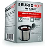 Keurig My K-Cup Reusable Ground Coffee Filter, Compatible with All  1.0/Classic Keurig K-Cup Pod Coffee Makers