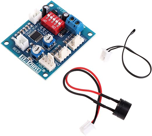haia7k4k 12 V CPU ventilador control de temperatura PWM módulo ...