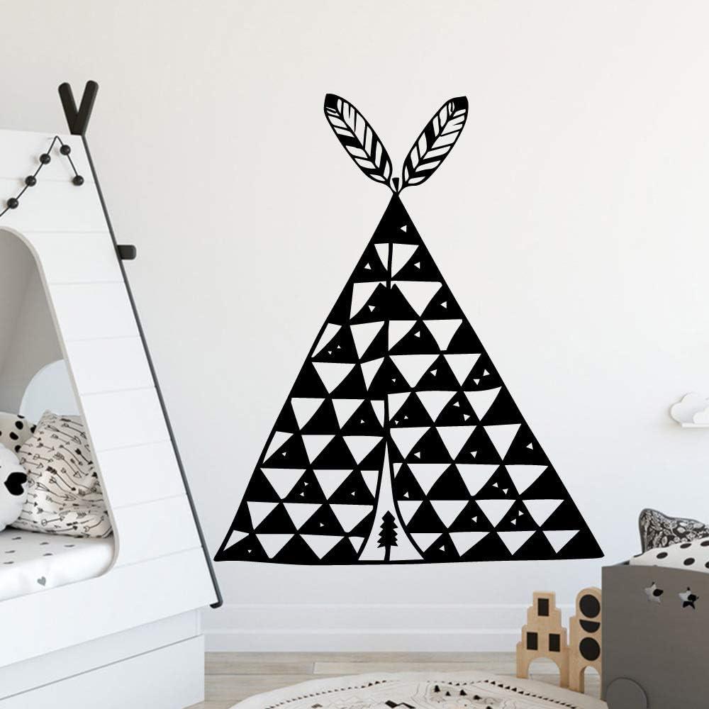 supmsds Calcomanías de Vinilo Triángulo Triángulo Arte de la ...