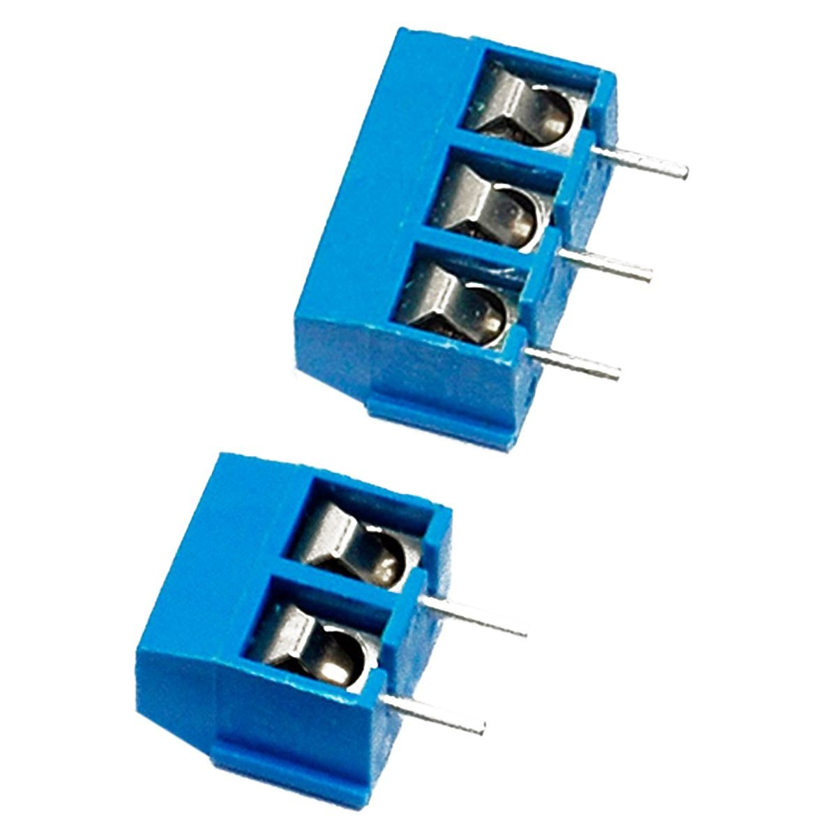 SODIAL(R) 2 Pin and 3 Pin Screw Terminal Block Connector 5mm Pitch for Arduino (Pack of 40pcs) EK8365