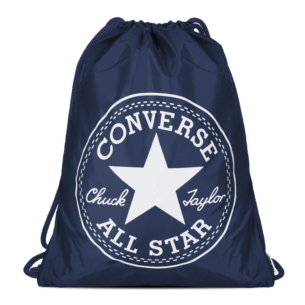 Converse Unisex Gym Cinch Bag Deep Navy White 3EA045G