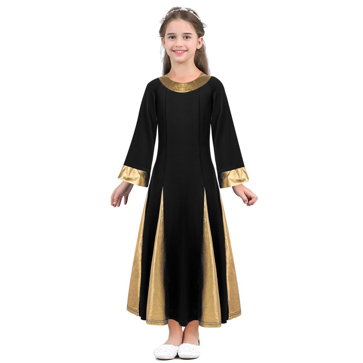 最上の品質な dPois DRESS ガールズ B07FVS6PWF 8|ブラック 8|ブラック DRESS ブラック dPois 8, ガンキング:f58162c7 --- webdesign-grevesmuehlen.de