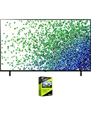 $966 » LG 65NANO80UPA 65 Inch NanoCell 80 Series LED 4K UHD Smart webOS TV (2021) Bundle with Premium 4 Year Extended Protection Plan