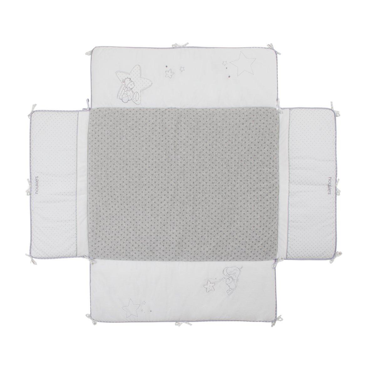 Noukies BB1410.61 Etoiles Laufstallteppich, 75 x 95 cm