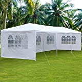 Clevr 10'x30' Canopy Party Wedding Outdoor Tent, Walls w/windows, Gazebo Pavilion Cater Events Tent