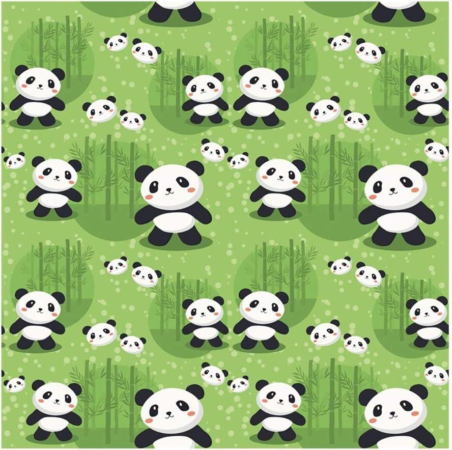 Yeele 9x9ft Panda Photography Background Cartoon Bamboo Forest Photo Backdrop Studio Props Video Drape