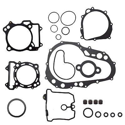 WFLNHB Complete Gasket Kit Set Top & Bottom End for 2003-2008 Suzuki Quadsport Z400 LTZ400: Automotive
