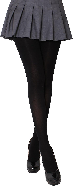 CozyWow Blickdicht Damen Strumpfhose Elastisch Semi St/ützstrumpfhose in 13 Farben