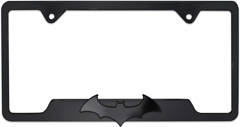 BAT BATS BATMAN Metal License Plate Frame New