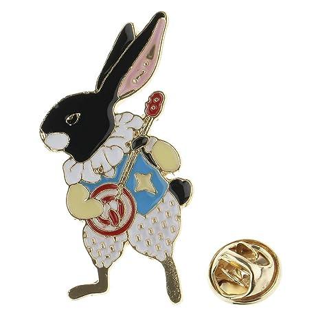 Baoblaze Insignia de Botón Broche de Conejo Ornamentos de ...