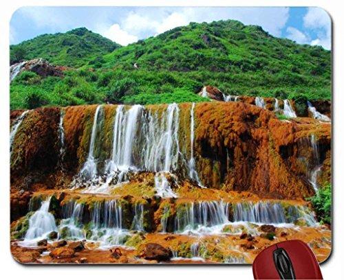 Golden Waterfalls Taiwan mouse pad computer ()