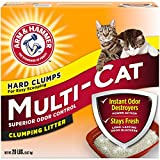 Arm-Hammer-Multi-Cat-Extra-Strength-Fresh-Scent-Clumping-Litter