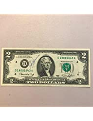$1 Lakers Shaquille O/'Neal $2 Dollar Bill Mint Rare