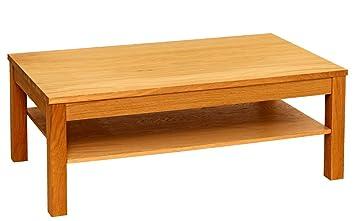 super populaire 2d064 fab90 JYSK Table Basse Silkeborg W/étagère en chêne huilé: Amazon ...