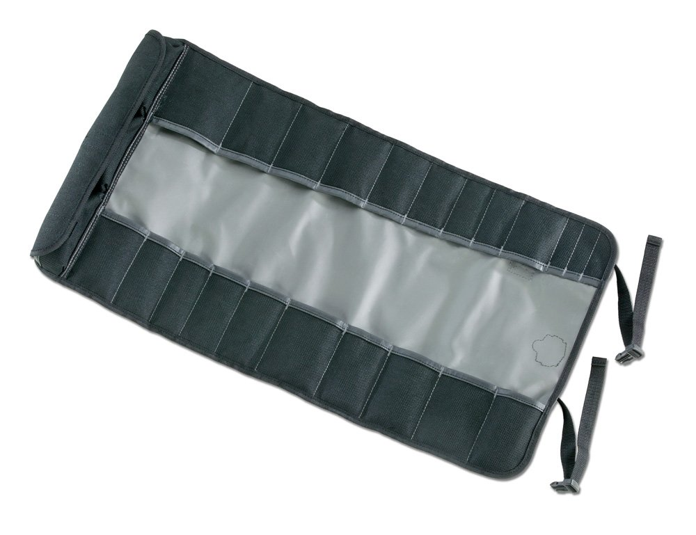 Arsenal 5870 Tool Roll-Up Pouch, 25-Pockets, Polyester, Gray by Ergodyne (Image #3)