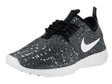4b6b8bbc12ba Nike Women s Juvenate Print Dark Grey White Black Pr Pltnm Running Shoe (