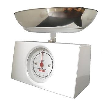Compra Typhoon Metro - Báscula de cocina rectangular color blanco en Amazon.es