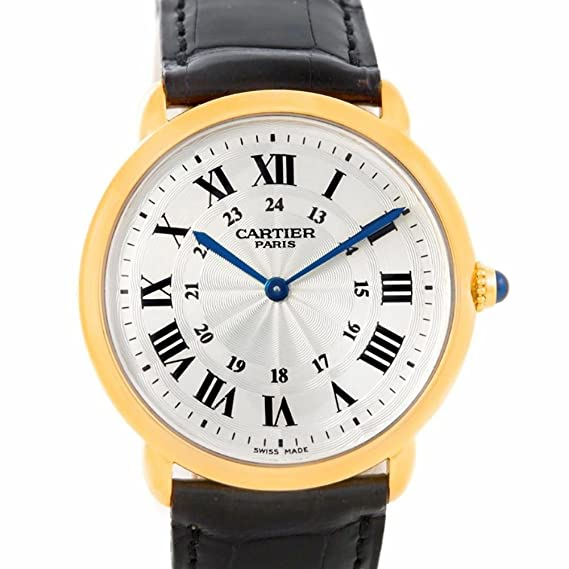 4df39694e33 Cartier Ronde automatic-self-wind mens Watch NA (Certified Pre-owned):  Cartier: Amazon.ca: Watches